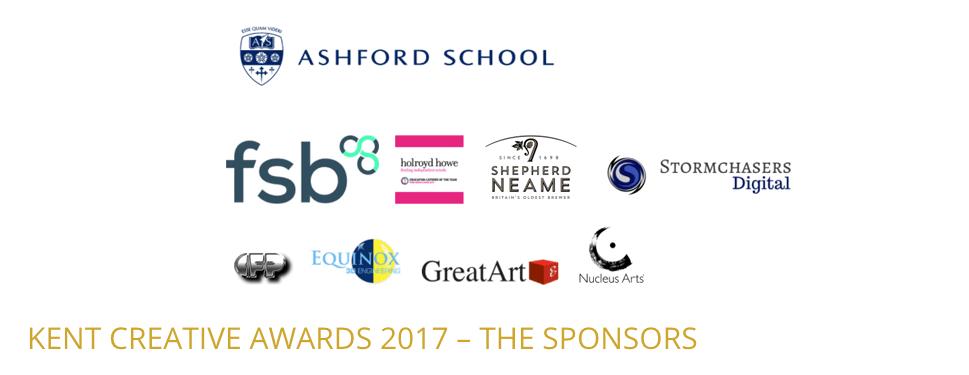 Kent Creative Awards Sponsors