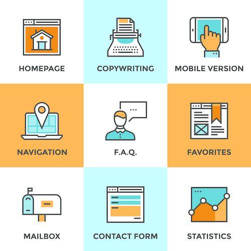 wordpress website redesign features