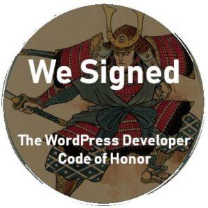 WordPress Code of Honour